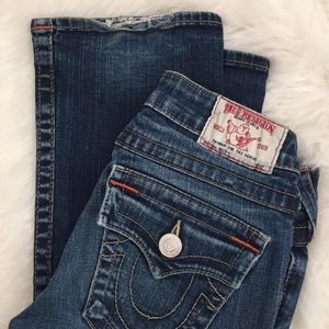 "True Religion ""Becky"" jeans, size 24"